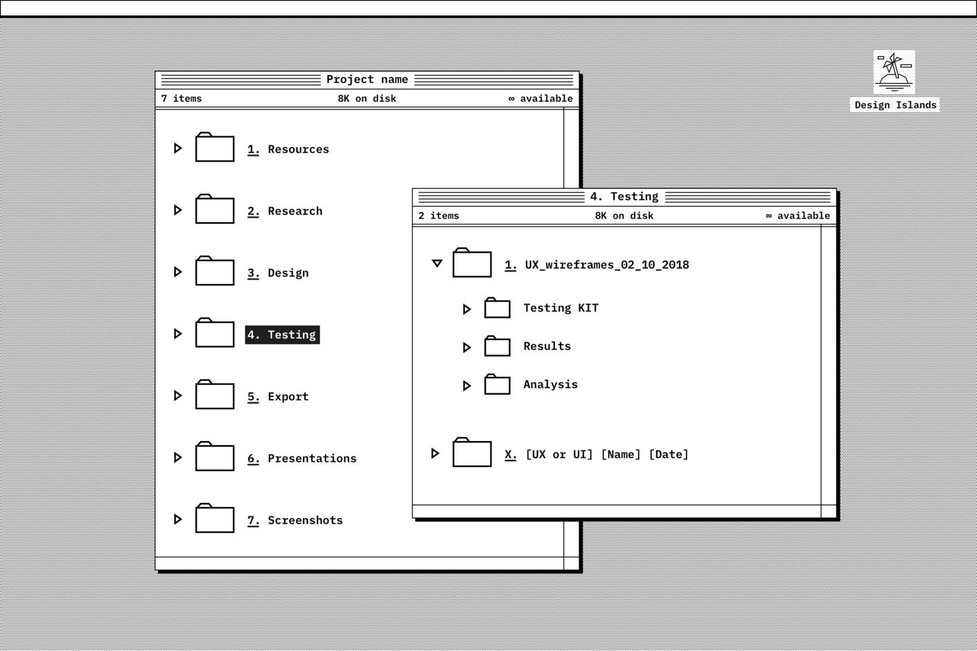 Testing folder