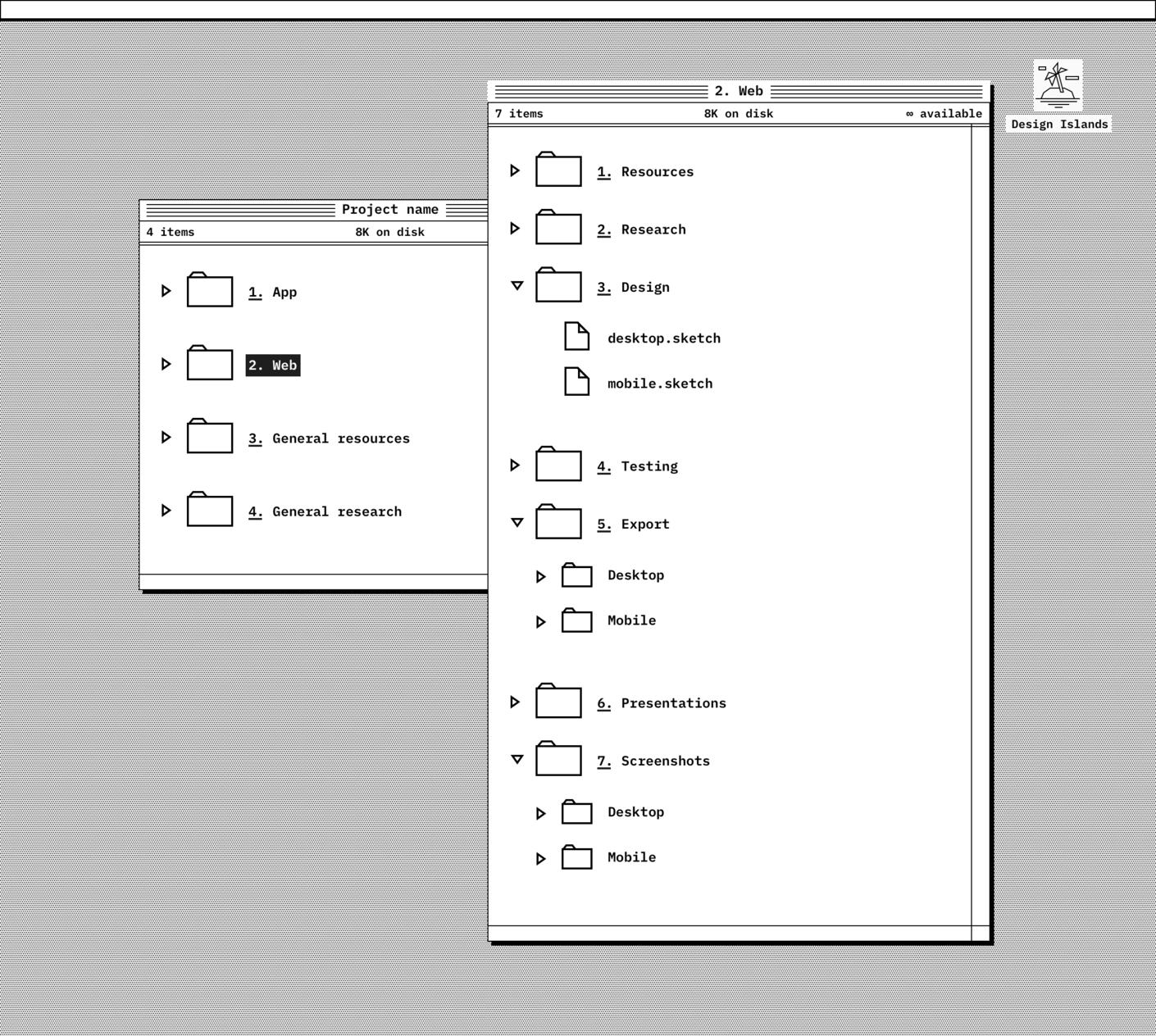 Responsive Website folder details