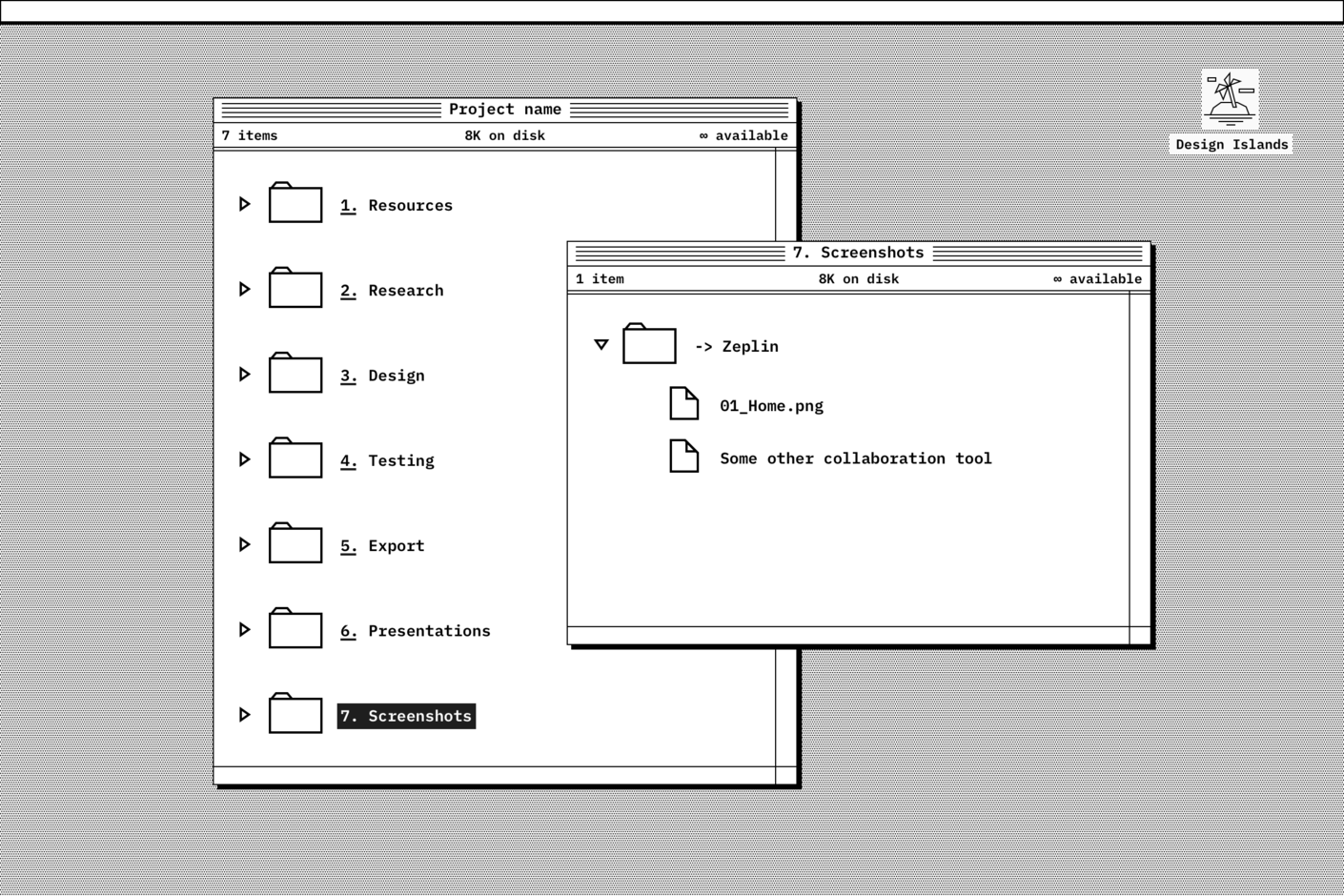 Screenshots folder