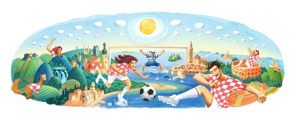 Google Doodle by Vedran Klemens
