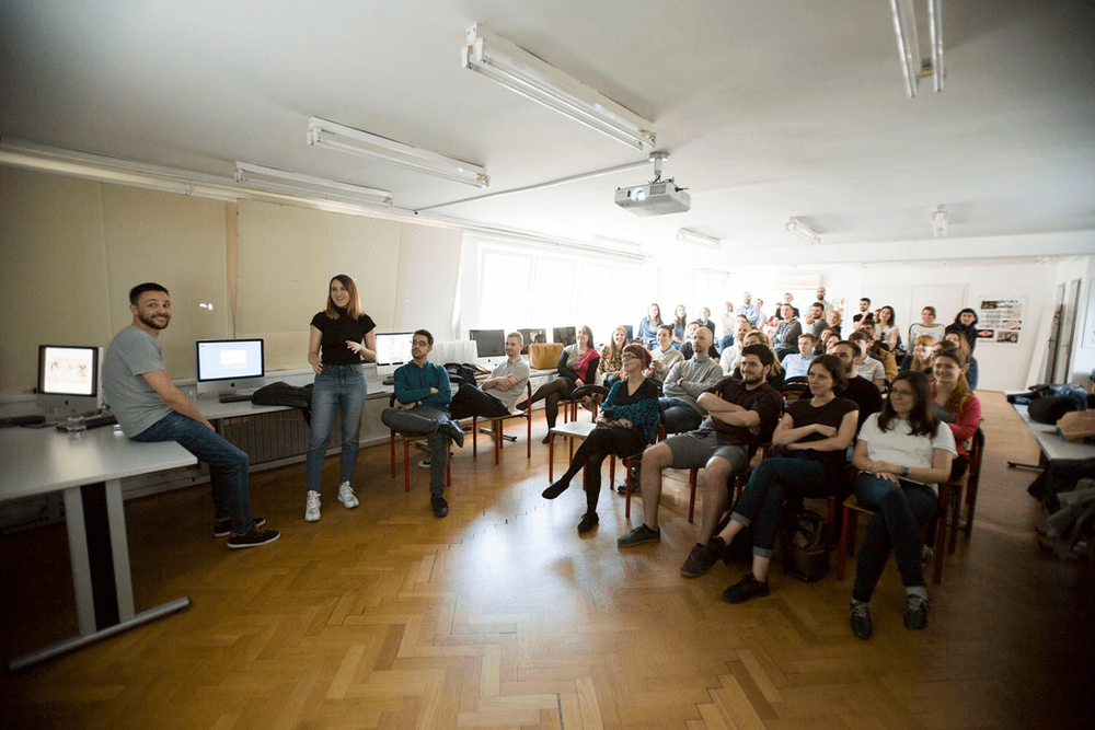 A lecture we delivered at Zagreb's School of Design