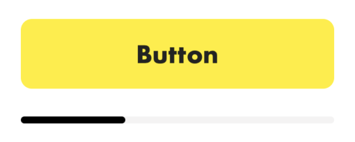 Rounded button and progress view