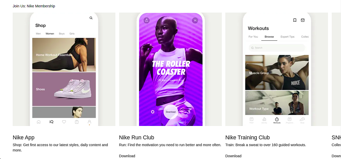 NikePlus App