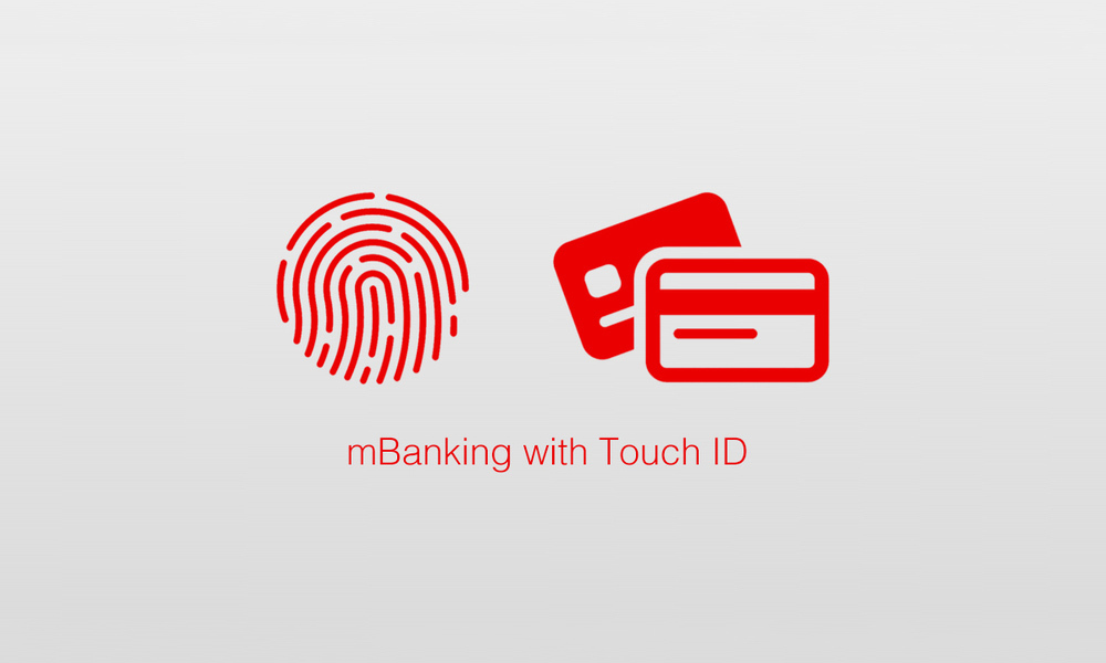 mBanking with Touch ID